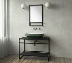 to Know More About Metal Bathroom Vanity Design? Bathroom Vanity Designs, Bathroom Interior Design, Bathroom Ideas, Bathroom Inspo, Bathroom Toilets, Small Bathroom, Toilette Design, Restroom Design, Tadelakt