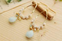crochet earring inspiration