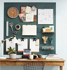Organization Inspiration: Project Ideas for the Next House Art Studio Room, Art Studio Storage, Art Studio At Home, Home Art, Art Studio Organization, Organization Ideas, Attic Spaces, Small Spaces, Attic Craft Rooms
