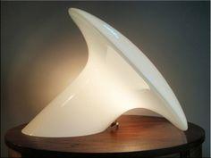 Glass Lamp produced by Vistosi Italy, Murano