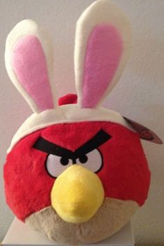 Angry Birds Easter 5 Inch DELUXE Plush Red Bird Angry Birds Easter 5 Inch DELUXE Plush Red Bird.  #CommonwealthToys #Toy