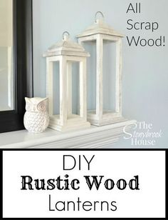 Teds Wood Working - a great way to get rid of scrap wood diy rustic wood lanterns, diy, home decor, rustic furniture, woodworking projects (Diy Wood Work To Get) - Get A Lifetime Of Project Ideas & Inspiration!