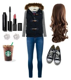 """football game pt 1"" by bulldoggrl on Polyvore featuring Frame Denim, Superdry, Converse, Bobbi Brown Cosmetics and River Island"