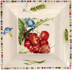 Gien Cherry Dinnerware   Artedona.com