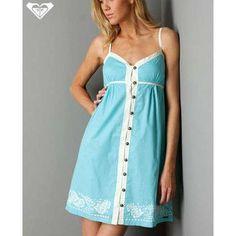 Blue sundress, Sundresses and Beach weddings on Pinterest