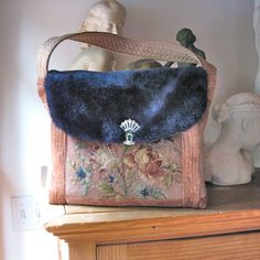 Handbag Purse Fall Winter Handmade Vintage by JackieSpicer, $60.00