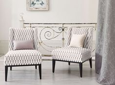 Ornare is a lustrous collection of sumptuous velvets and modern jacquard weaves featuring delicate, organic flora, contemporary geometrics and timeless stripes with accents of a luxurious metallic effect. A classic colour palette of versatile neutrals, sophisticated duck egg and graphite further enhance the unique designs and perfectly complement other Romo collections. Decorative Weaves Designer Fabrics & Wallcoverings, Upholstery Fabrics