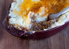 Baked in an oven-to-table casserole, this dish will be very hot when it comes out of the oven, so be sure to let it cool for several minutes before serving. From Family Fun Magazine.