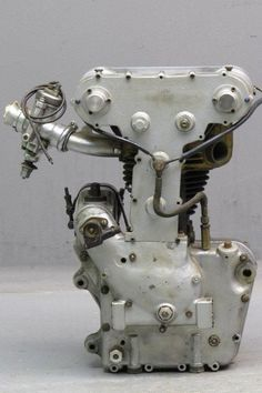 Racing Motorcycle Royal Enfield 1949 Engine