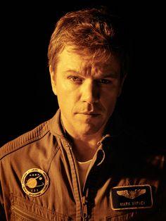 "Matt Damon en ""Marte"" (The Martian), 2015 Matt Damon, The Martian Novel, Mark Watney, Manny Jacinto, Andy Weir, Patrick Wilson, Dan Stevens, David Fincher, Celebrity Photographers"