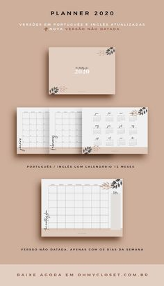Download Planner, Monthly Planner Printable, Free Planner, Planner Template, Planner Pages, Weekly Planner, Planner Diy, Planner Doodles, Vie Motivation