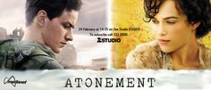 Atonement - Fledgling writer Briony Tallis, as a 13-year-old, irrevocably changes the course of several lives when she accuses her older sister's lover of a crime he did not commit. Based on the British romance novel by Ian McEwan.