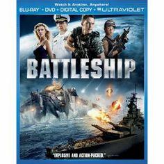 Battleship (Two-Disc Combo Pack: Blu-ray + DVD + Digital Copy + UltraViolet) (Universal Studios Home Entertainment)