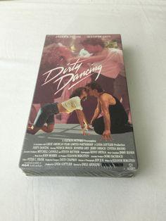 SEALED Dirty Dancing VHS Tape Movie - Starring Patrick Swayze & Jennifer Grey 1987 Romantic Drama Musical Movie by NostalgiaRocks
