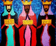 Poesia Infantil i Juvenil: poemes de nadal We Three Kings, Kings Day, Christmas Art, Winter Christmas, Projects For Kids, Art Projects, Three Wise Men, Epiphany, Elementary Art