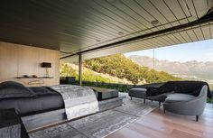 SAOTA together with interior designer Debra Parkington, have designed a new home in Bantry Bay, Cape Town, South Africa.