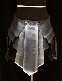 Wonder Woman Costume Skirt- DIY Cosplay  Dragon Born, the Phoenix Rises: Wonder Woman Skirt Part II
