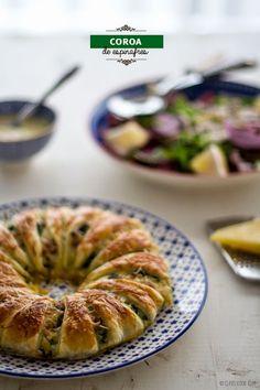Clavel's Cook: Coroa de espinafres