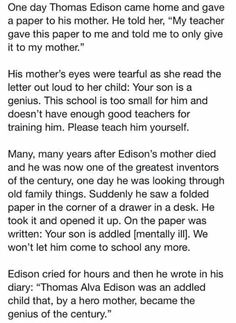 Edison story
