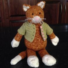 Ravelry: gavinsbaba's C is for Cat
