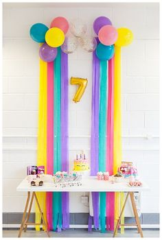 A Colorful Shopkins Birthday Party Love Inc. Mag A Colorful Shopkins Birthday Party Love Inc. Rainbow Birthday Party, Unicorn Birthday Parties, Unicorn Party, Birthday Party Themes, Birthday Invitations, Card Birthday, Birthday Ideas, Shopkins Birthday Cake, Birthday Morning