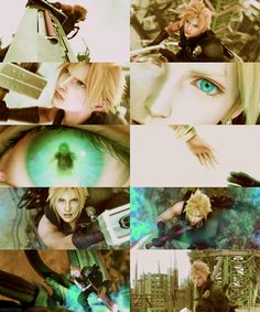 Final Fantasy VII: Advent Children-one of the best scenes in the movie.
