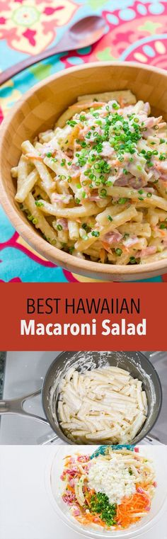 Tricks for making an ultra creamy Hawaiian Macaroni Salad, the perfect side for your plate lunch.