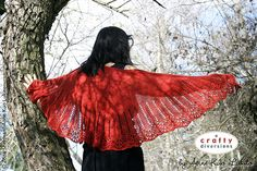 I keep seeing this ad and swearing to make this shawl next.