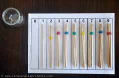 DIY Montessori Material: Spindles