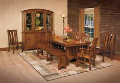 Olde Century Mission Bench from DutchCrafters Amish Furniture