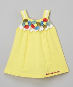 Flower Tank Dress - Kids