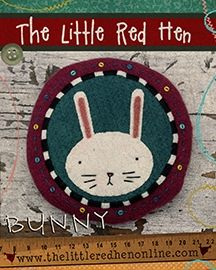 Bunny Pincushion KIT - by The Little Red Hen