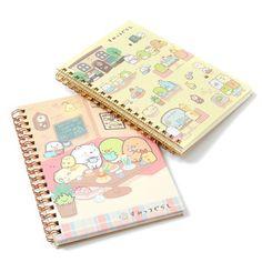 Sumikko Gurashi Cafe Sumikko B6 Spiral Notebooks