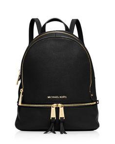 0a6289391eb9 MICHAEL Michael Kors Small Rhea Zip Backpack Kabelky Mk
