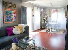 Small Space Lessons: Floorplan and Solutions from Laura's Big Ideas for a Small Home