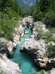 Fluss Soča - Juwele der Natur - Slovenia - Official Travel Guide -
