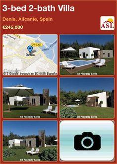 3-bed 2-bath Villa in Denia, Alicante, Spain ►€245,000 #PropertyForSaleInSpain