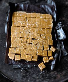peanut butter fudge with fleur de sel