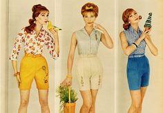 Early 60s women's fashion