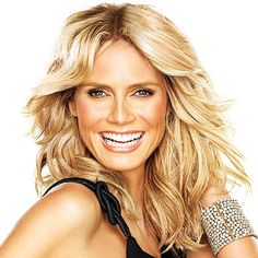Heidi Klum - She has a determination, drive, business savvy and is a mother who balances it all (with help I am sure).