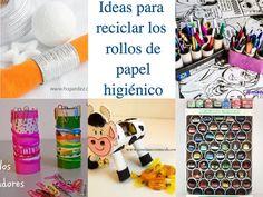 Ideas para reciclar los rollos de papel higiénico