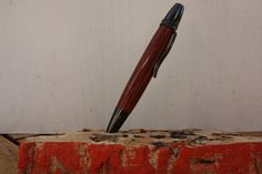 Wood shavings & Epoxy Patriot stile pen