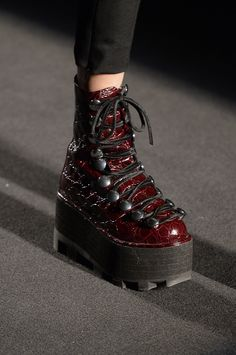 The Best Shoes, Bags, and Jewelry from NYFW Alexander Wang Punk Boot