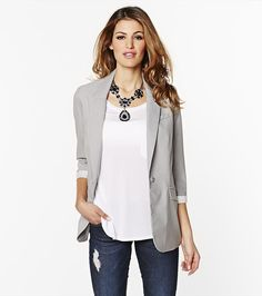 Love the Boyfriend Blazer. Not sure how it would look on my shorter frame. Would like it for work and play.