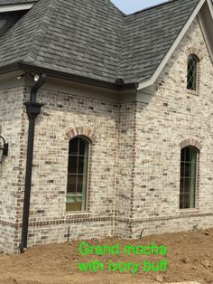 Dream House Exterior, Exterior House Colors, Exterior Design, French Country Exterior, French Country Farmhouse, Home Theater Room Design, Home Theater Rooms, House With Porch, House Front