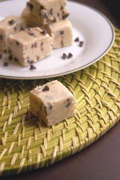 Chocolate Cookie Dough Fudge