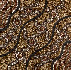 My Country by Aboriginal Artist Sean Bundjalung Aboriginal Patterns, Aboriginal Dot Painting, Aboriginal Artists, Indigenous Australian Art, Indigenous Art, Australian Aboriginals, Mandala Painting, Bike Art, Painting Patterns