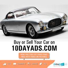 Buy or Sell your car on 10dayads.com #BuyUsedCar #SellCar