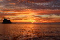 Puesta Del Sol, Mar
