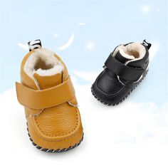 43.41$  Buy now - http://ali74o.worldwells.pw/go.php?t=32780045221 - 2017 Baby First Walker Shoes Winter Newborns New Year Babies Toddler Warm Vestido Babe New Light Winter Boy Footwear 70A1011 43.41$